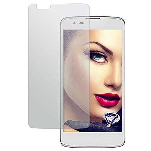 mtb more energy® Protector de Pantalla de Vidrio Templado para LG K8 (K350N, 5.0'') - 9H - 2.5D - Cristal Tempered Glass