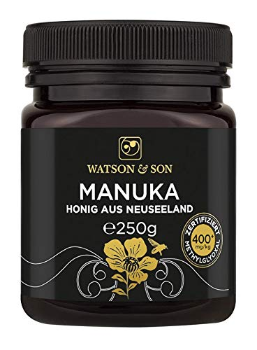 Watson & Son Manuka Honig MGO 400+ 250g | Premium Qualität aus Neuseeland