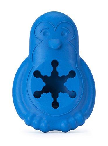 PetSafe Hundespielzeug Gefrier-Pinguin M/L, Gefrierspielzeug zum Kauen, für mittelgroße und große Hunde