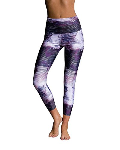 Onzie Flow Highrise Basic Capri 2029 Abstract (Abstract, X Small)