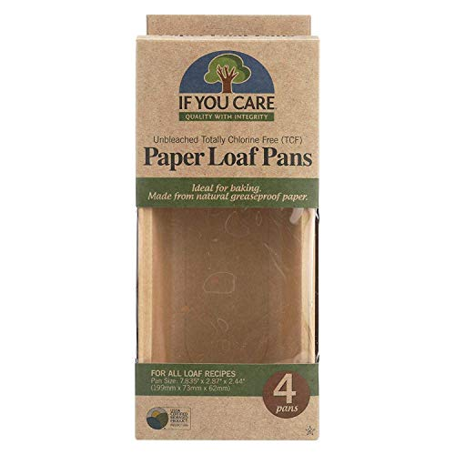 If You Care, PAPER BAKING PAN,LOAF, 6 Pack