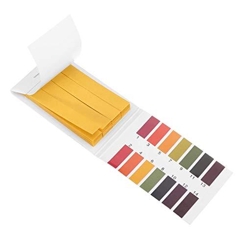 Yongse PH 1-14 Test Papier Litmus Strips PH Universele Indicator Papier met Kleur Grafiek