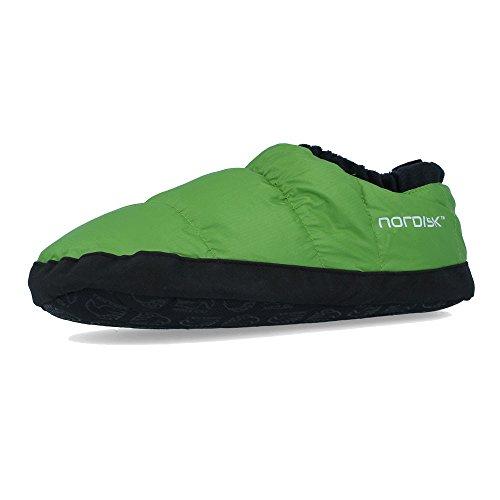 Nordisk Mos Down Shoes Daunenschuhe Schuhe, Peridot Green Size L