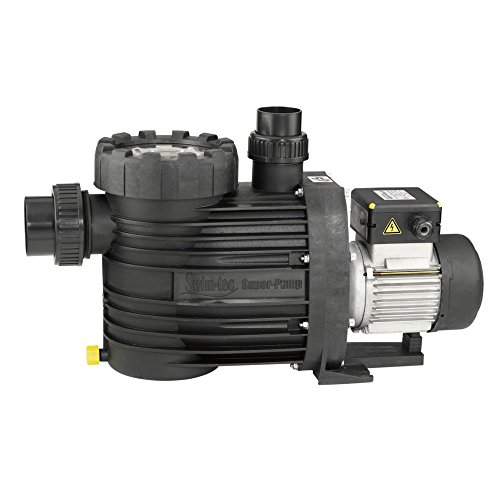 Swim-tec Super-Pump 12 - Filterpumpe 12m³/h bis 72m³ Wasserinhalt