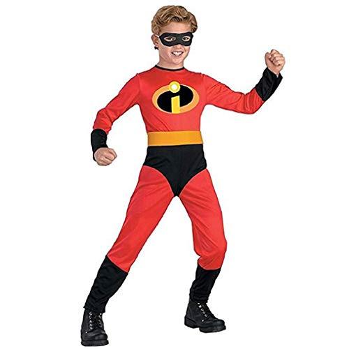 MKOPLBNZA Superman Movie Fans Bekleidung Halloween Cosplay Kostüm-Stadiums Party Supplies Bodysuit Cos Superman Anime Jumpsuit Männer Masquerade Birthdays Lycra Zentai-Anzug,Adults 67~69in