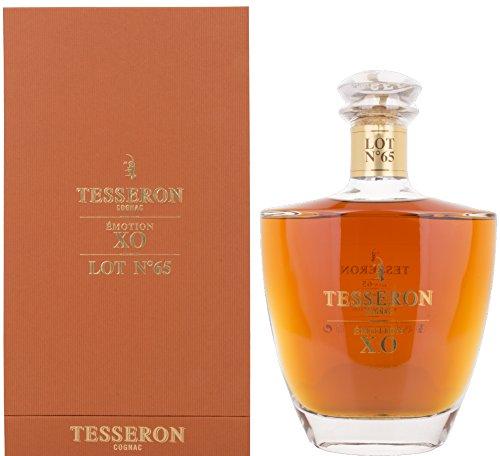 Tesseron Cognac X.O ÈMOTION LOT N° 65 mit Geschenkverpackung (1 x 0.7 l)