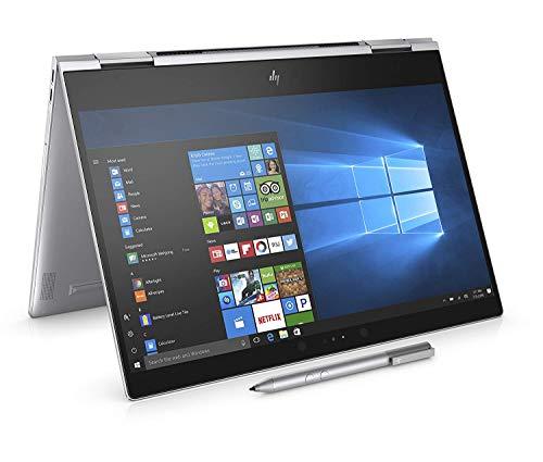 """HP-PC Spectre x360 13-ae022nl Convertibile, Intel Core i5-8250U, RAM 8 GB, SSD 512 GB, Grafica Intel UHD 620, Windows 10 Home, Schermo 13.3"""" FHD IPS, Lettore Impronte Digitali, Thunderbolt, Argento"""