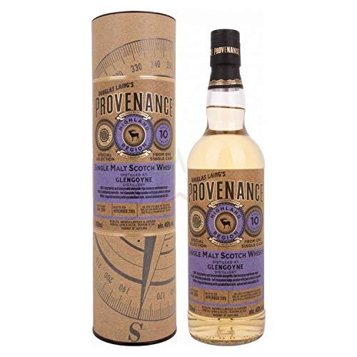 Douglas Laing GLENGOYNE Provenance 10 Years Old Single Malt Scotch Whisky 2008 Whisky, (1 x 0.7 l)