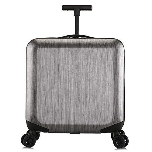 Business Trolley für Männer und Frauen, universell einsetzbar, mit Reißverschluss, Reisepasswort-Koffer, 4-56 cm