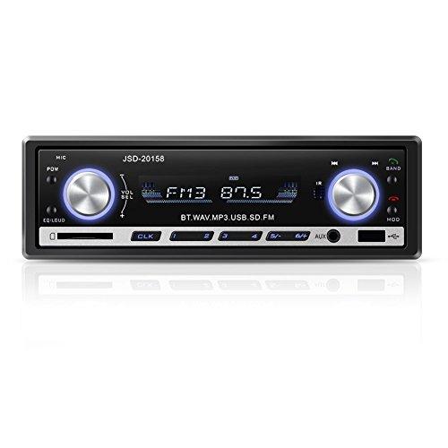GHB - Autoradio USB Bluetooth SD MM AUX MP3MP4MP5Telefono FM stereo Amplificatore Hi-Fi