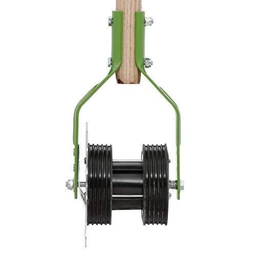 AMES 2916000 Dual Wheel Rotary Edger, Steel