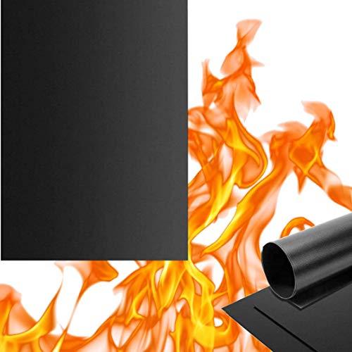 Pamura - Grill & Chill - Grillmatte - BBQ Matte - pflegeleicht - wiederverwendbar - PTFE-Fiberglas-Beschichtung - 100% PFOA-frei - Keine Silikone