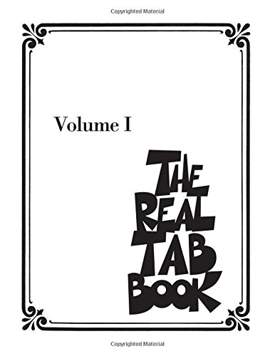 The Real Tab Book - Volume 1: Songbook für Gitarre: Guitar