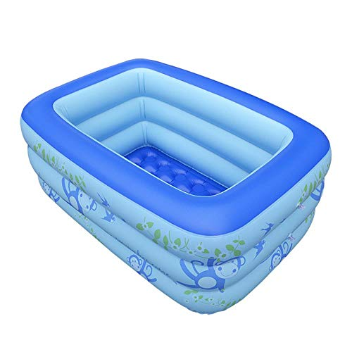 DMLGQ Piscinas Hinchables Piscina Inflable Entretenimiento Familiar Piscina Inflable Piscina 130 * 95 * 55 Cm