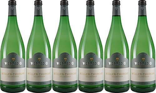 Weinkellerei Emil Wissing Müller - Thurgau 1L 2019 Lieblich (6 x 1.0 l)