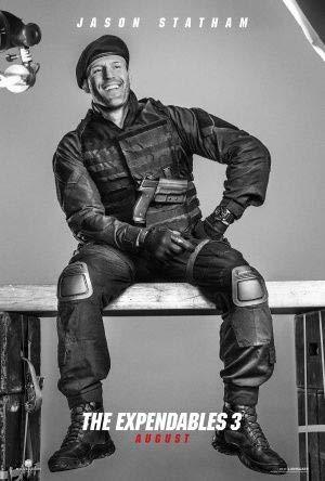 Expendables 3 – Jason Statham – Film Poster Plakat Drucken Bild – 43.2 x 60.7cm Größe Grösse Filmplakat