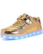 Malltea Jongens Meisjes LED Licht Up Schoenen USB Opladen Sneakers kids Trainers Beste Gift