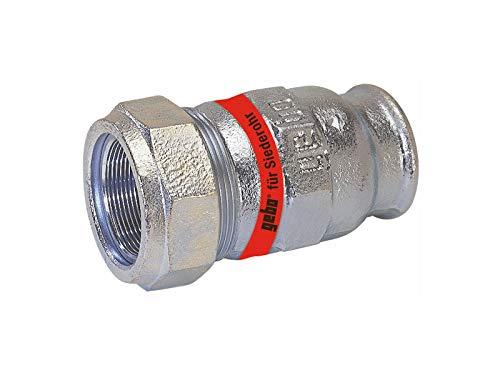 GEBO TG-Klemmverbinder, DN 25 - IG 1 Zoll x Ø 31,8 mm - für Siederohr