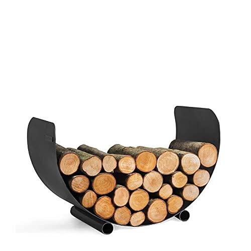 Gartentraum Per la cura del legno curvo come elegante contenitore per legna da ardere – Andross per la cura del legno