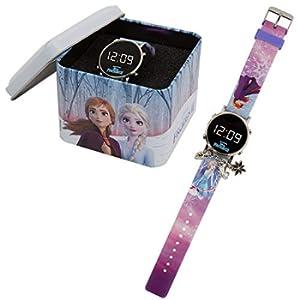 Frozen 2 - Orologio digitale con braccialetto in Tin Box