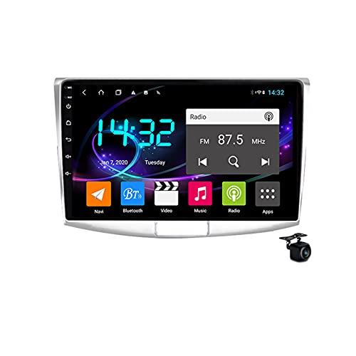 Android 10.0 Coche Estéreo 2 Radio DIN para Passat 7 B7 CC 2010-2018 GPS Navigation 9 '' Unidad de cabeza MP5 Multimedia Video Player Player Soporte 4G 5G WiFi Carplay,8core 4/5g wifi 6+128gb