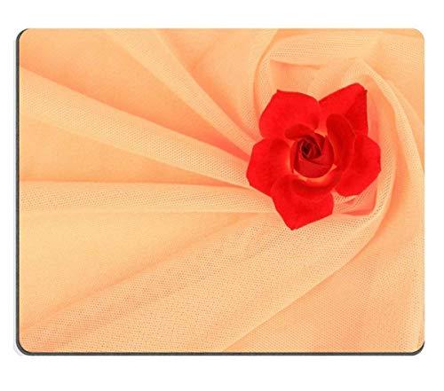Mousepads Hochzeitskleid-Stil mit dem Stoff von Orange Bild-ID 23450334