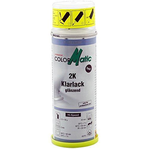 Colormatic 187216 CM, 2 K Lacca trasparente con acceleratore 200