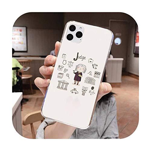 PrettyR - Custodia per iPhone 11 Pro XS MAX 8 7 6 6S Plus X 5S SE 2020 XR