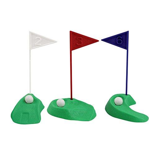 PME Golf Dekorationen/Kunststoff Zahlen, grün/rot/blau/weiß/schwarz, Set 13 - 4