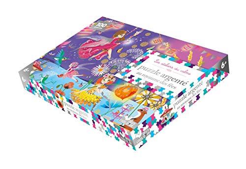 Puzzle argenté au royaume des fées - 1 puzzle 100 pièces