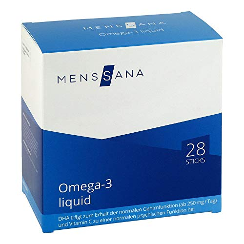 MensSana Omega-3 liquid Sticks, 28 St. Beutel