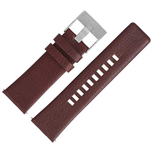 Diesel DZ-4281 - Correa de piel para reloj (26 mm), color marrón
