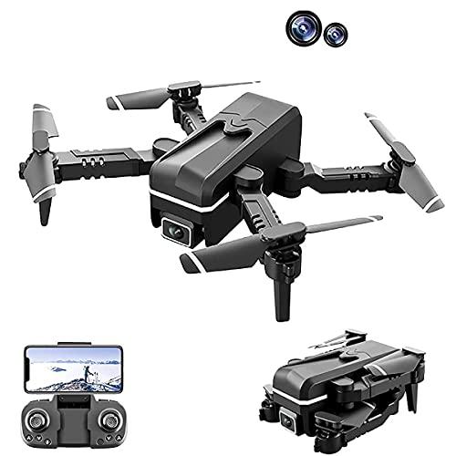 WECDS Drone con Fotocamera 4K Quadricottero RC Adulto per Principianti 3 batterie e Custodia per Tornare a casa automaticamente Seguimi waypoint Volare modalità Senza Testa