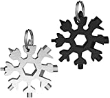 """The unique snowflake shaped design of allows us to creatively use nature's perfect shape to combine with functionality and design in our compact multi-tool. Our Multi-tool which weighs only 2.3 ounces and just over 2"""" long is so easy to be taken alon..."""