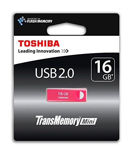 Preisvergleich Produktbild Toshiba TransMemory Mini 16GB USB stick USB 2.0 rosa