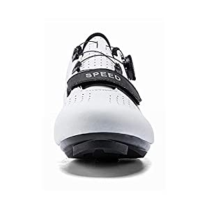 Joseph Haywood 2021 Women Cycling Shoes Road Bike Shoes Compatible Lock SPD/SPD-SL Indoor/Outdoor Riding Shoes White