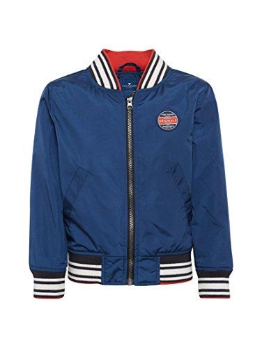 TOM TAILOR für Jungen Jacken & Jackets Bomberjacke mit Schriftzug Estate Blue, 92/98