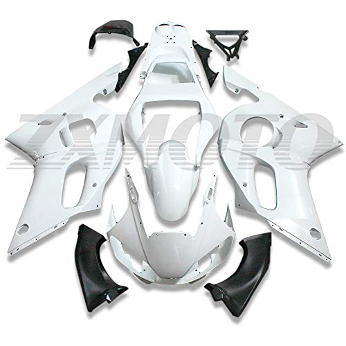 ZXMOTO Unpainted Motorcycle Fairings Kit fit for 1998 1999 2000 2001 2002 YAMAHA YZF R6