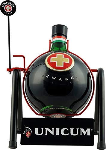 Zwack Unicum (1 x 5.0 l) (1 Flasche 1 Unicum Flaschenwippe)