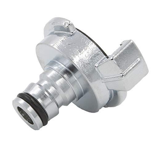 SpiceFlow Adapter mit Schnellkupplung | Gardena System - Klauenkupplung | Massive Ausführung in Chrom/Messing | System GEKA