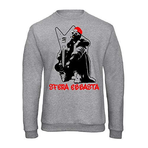 Art T-shirt, Sudadera Raglan Sfera €, Hombre gris XL