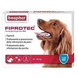 3 fialette antiparassitario cane 10-20KG FIPROTEC BEAPHAR