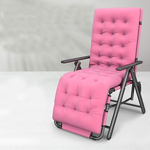 WUTONG Garden Patio Relax Reclinable Zero Gravity, sillón Perezoso de diseño ergonómico, diseño de Silla Widen Sleep Comfortable Load 200KG