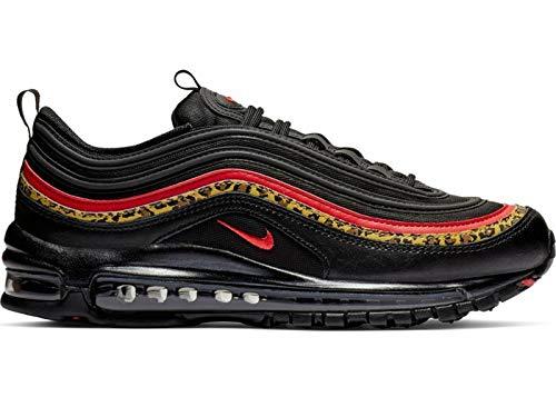 [ナイキ] エア マックス Air Max 97 Leopard Pack Running Shoes レディース BV6113-001 ランニング スニーカー Black Red Brown (measurement_24_point_0_centimeters)