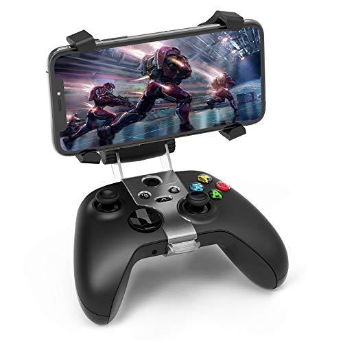 Auarte Handyhalter mit drehbarem Controller für Xbox One Xbox Series X & S - Einstellbarer Telefonhalter mit multidirektionalem Winkel für drahtlose Microsoft Xbox One Xbox Series X & S-Controller