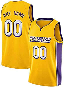 Custom L.A.L Basketball Jersey Uniform Personalized Shirt Team Name & Number Present Gifts Jerseys for Men Women Younth