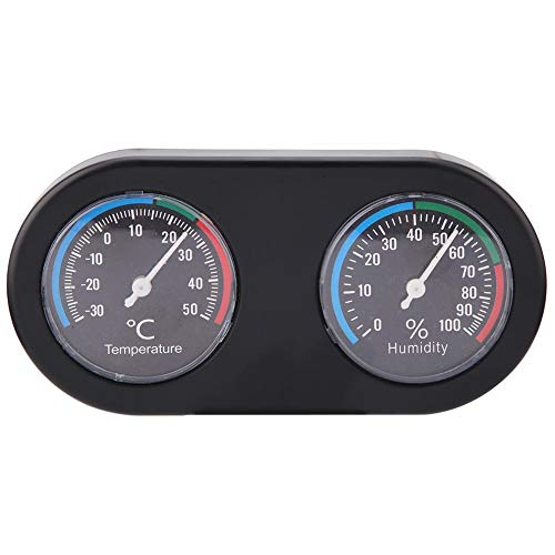 Hoseten Langlebiger Hygrothermograph, Reptilien-Thermometer, kompakt 2 in 1 für Pet Warehouse