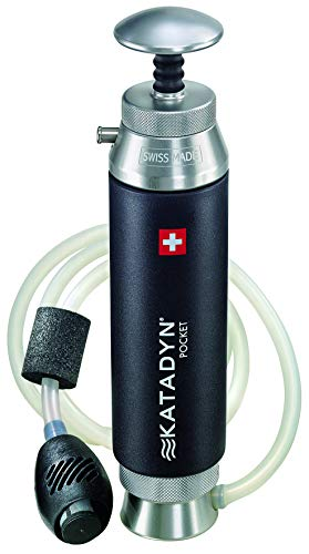 Katadyn Pocket Water Filter, Long Lasting for Personal or Small...