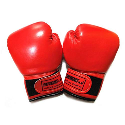 Opaltool Lot de 2 gants de boxe pour enfants avec cuir PU pour enfants de 3 à 10 ans, sac de...