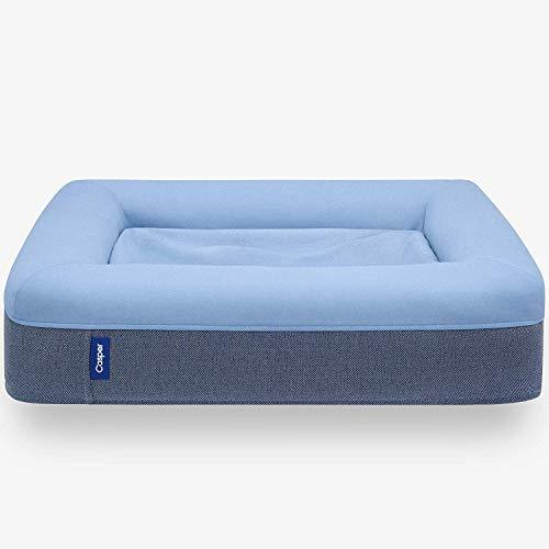 Casper Dog Bed, Plush Memory Foam, Medium, Blue